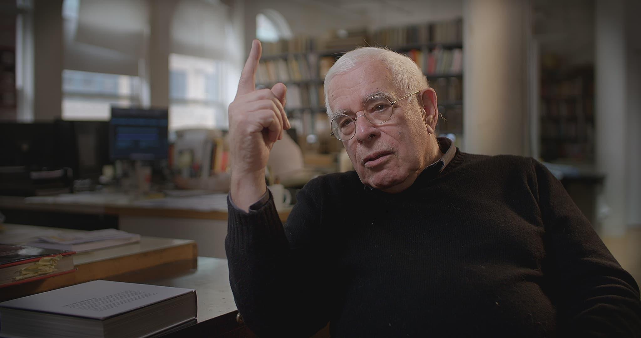Star-Architekt Peter Eisenman (New York) im Gespräch. © NOW Collective.