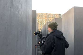 The Holocaust memorial designed by architect Peter Eisenman. © NOW Collective / Nico Weber.