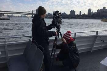 Aufnahmen von Manhattan von einem Schiff aus. © NOW Collective / Nico Weber.