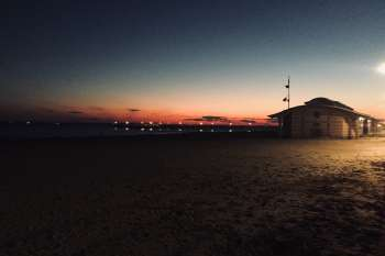 Sunset at Coney Island, New York. © NOW Collective / Nico Weber.