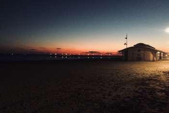 Sonnenuntergang in Coney Island, New York. © NOW Collective / Nico Weber.